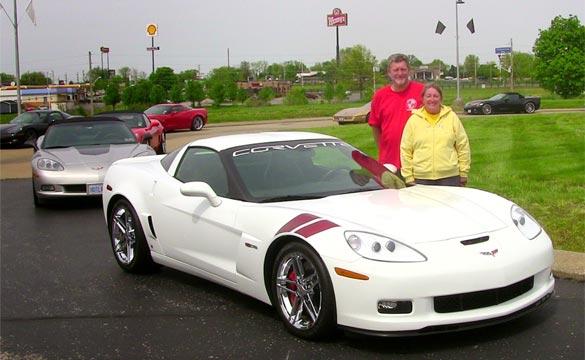 Couple Donates 2007 Ron Fellows Edition Corvette Z06 to the National Corvette Museum