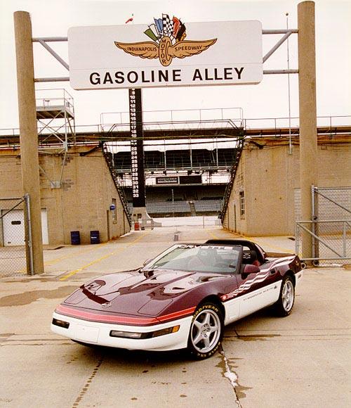 Collectible Corvettes: 1995 Indy 500 Corvette Pace Car