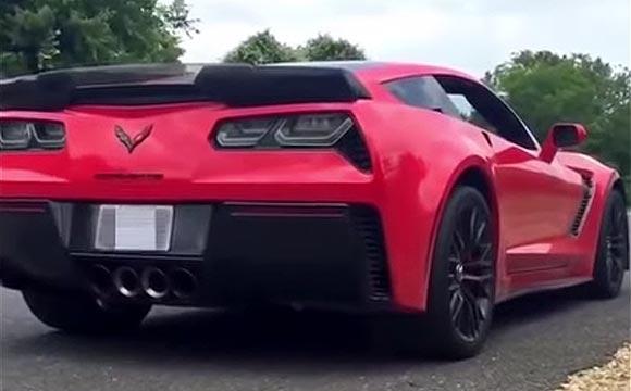 [VIDEO] Watch this Corvette Z06 Crash into a Tree