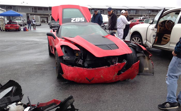 [ACCIDENT] Corvette Z06 Crashes at Monterey's Laguna Seca Raceway