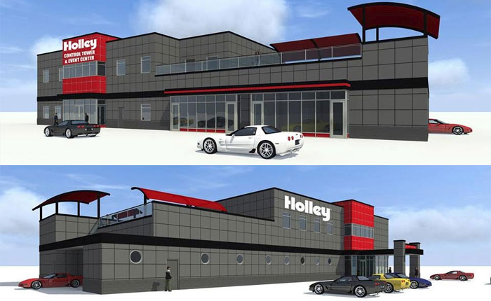 Join the Corvette Museum's Motorsports Park on Thursday for Groundbreaking of the Holley Control Tower