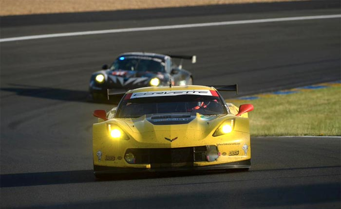 Corvette Racing at Le Mans: Plenty of Work - and Rain - on Test Day