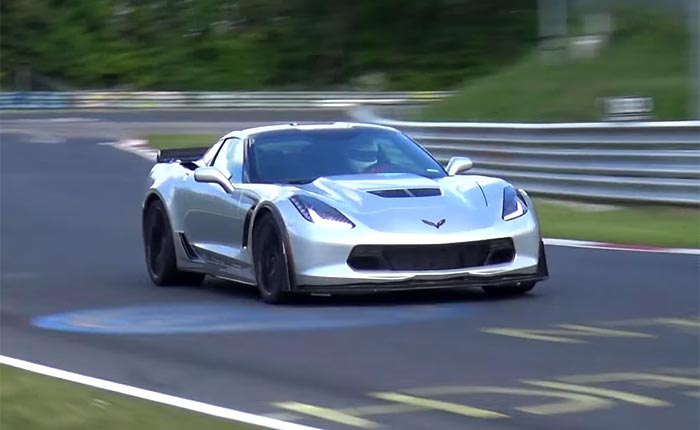 Nurburgring Lap Time for the C7 Corvette Z06 Completed and Video Coming Soon