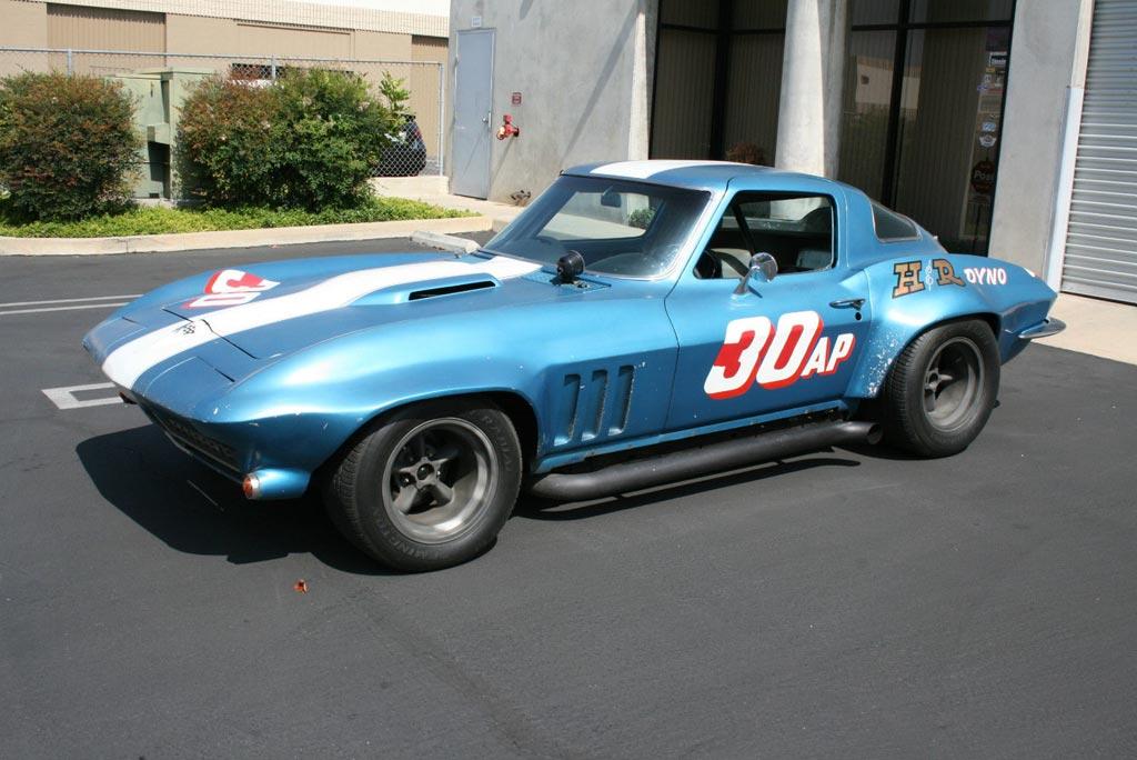 Guldstrand Prepped 1966 Corvette Scca Racer Sells Quickly Corvette