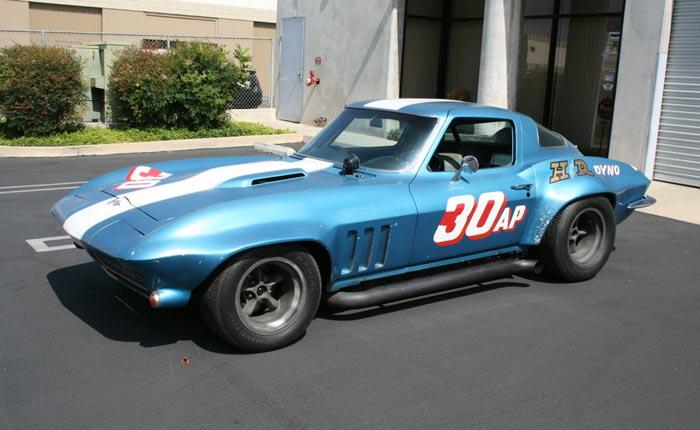 Guldstrand-Prepped 1966 Corvette SCCA Racer Sells Quickly - Corvette