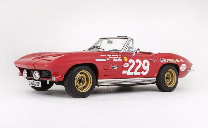 1964 Corvette Rally Car to be Auctioned at Bonham's Goodwood Sale
