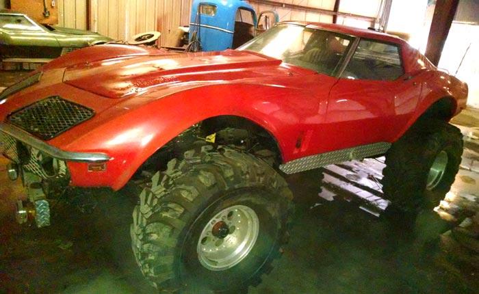 Corvettes on eBay: 1968 Monster Corvette 4x4