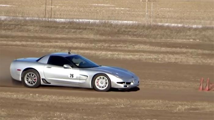 [VIDEO] RallyCross in a C5 Corvette Z06