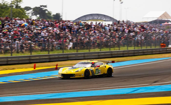Corvette Racing at Le Mans: Eighteen-Hour Update