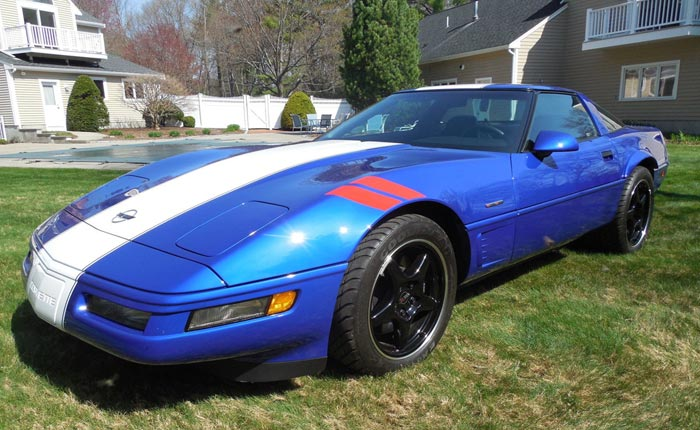 Corvettes On Ebay Unled 1996 Corvette Grand Sport With 480 Miles