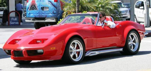 You Can be the Champ in Sylvester Stallone's Custom 1968 Corvette