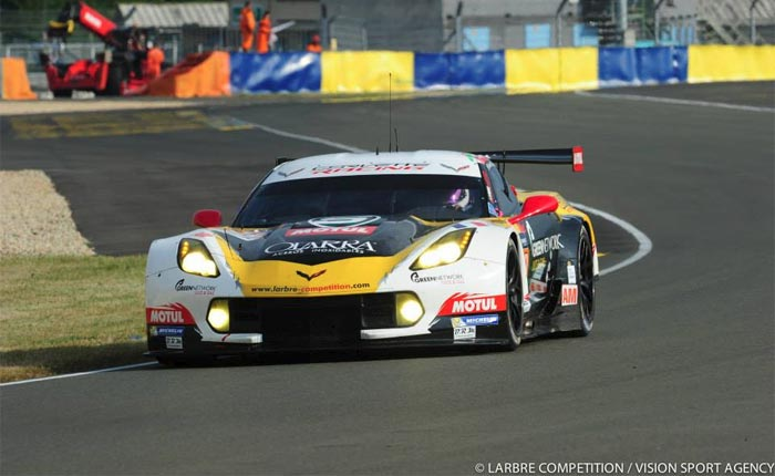 Corvette Racing to Use Larbre Competition's Corvette C7.R at Watkins Glen