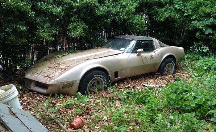 1981 Corvette Barn Find Is Worth Only 900 As A Parts Car