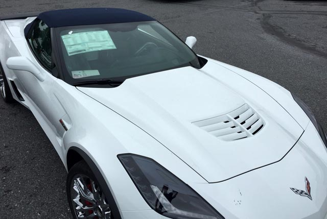 PICS] Z06 Shows Off New EFY Body Colored Vent Option for