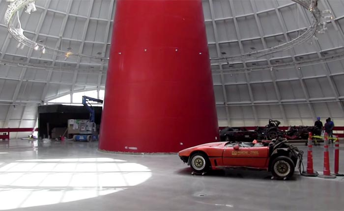 [VIDEO] Corvette Museum Skydome Update for June 22nd