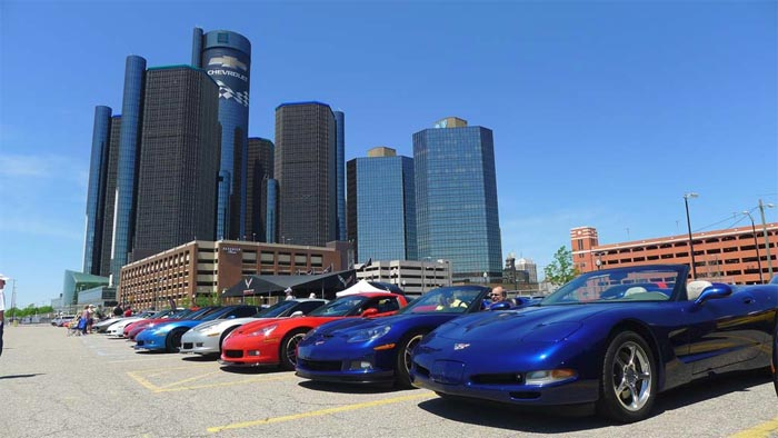 Sunday is the 3rd Annual 'Corvettes in the D' Car Show