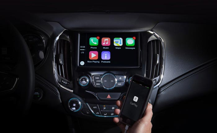 The First Chevrolet with Apple CarPlay is this 2016 Corvette Z06
