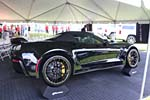 The 2016 Corvette Z06 C7.R Edition Convertible in Black Breaks Cover at Bloomington Gold
