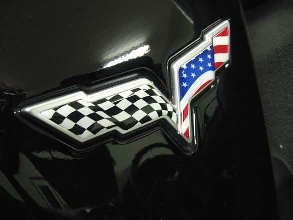 American Flag Waving Corvettes!