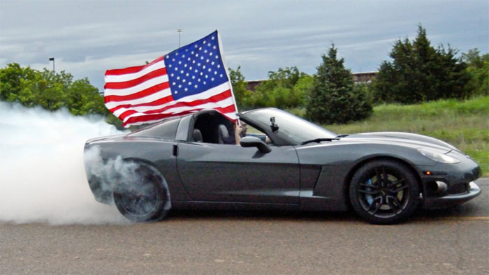 [VIDEO] 4th of July Corvette Burnout