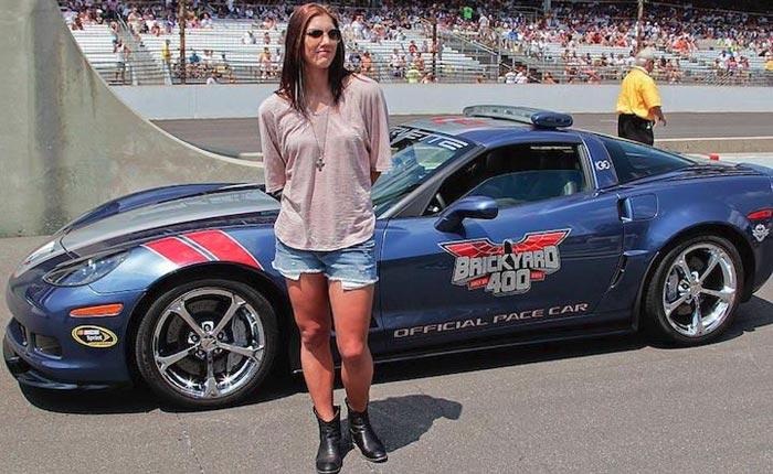 Throwback Thursday: USA Women's Soccer Goalie Hope Solo Drives the Brickyard Corvette Pace Car