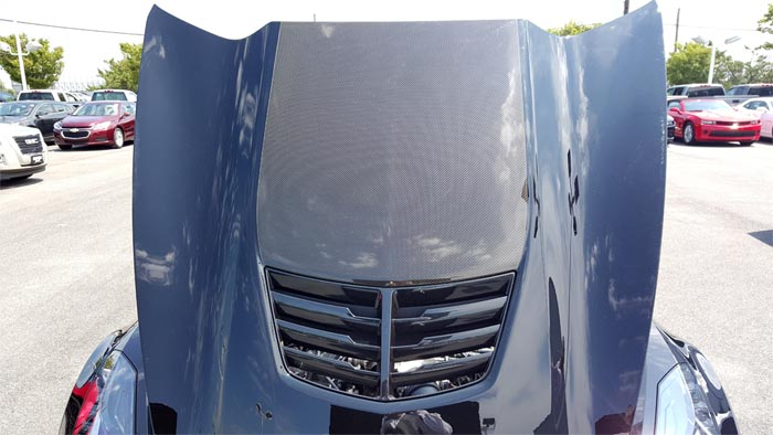 [PIC] 2016 Corvette's New Carbon Fiber Visible Hood