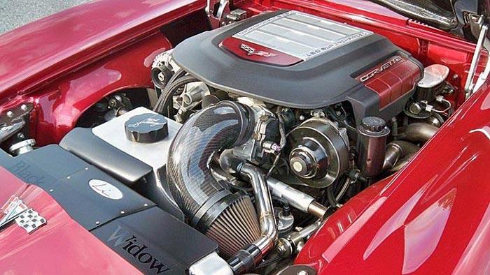 Rod Saboury's 1963 Black Widow Corvette