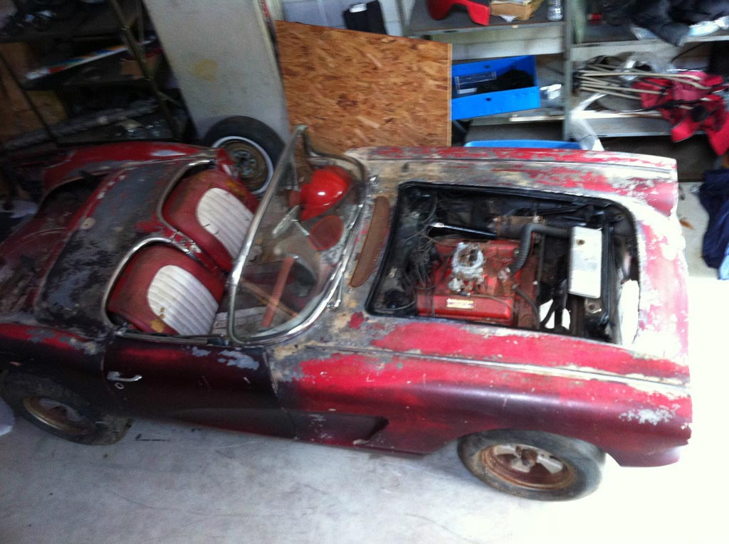 corvette project 1962 corvette project 100 likes cars finally moved original rebuilt motor out of basement, was rebuilt 030 over about 20 years ago.