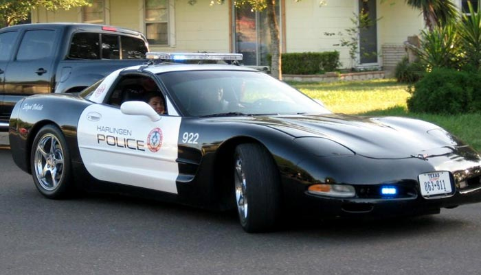 [GALLERY] Corvette Police Cars (44 Corvette photos)