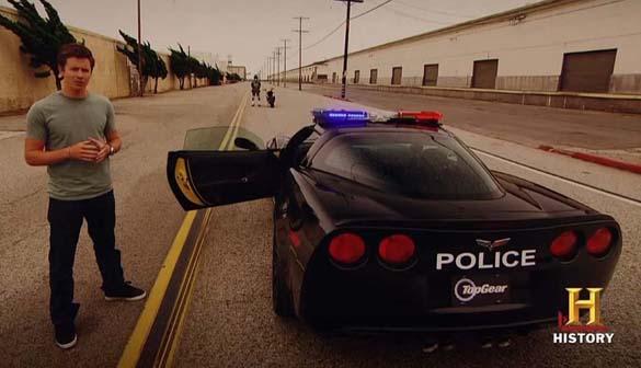 Corvette Police Cars
