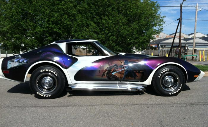 Corvettes on eBay: The Force is With This Star Wars Themed 1974 Corvette