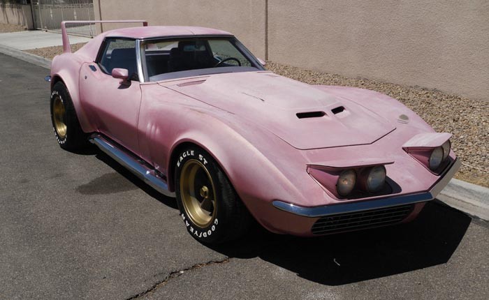 Corvettes on eBay: Little Pink Corvette by Legendary Customizer Larry Watson
