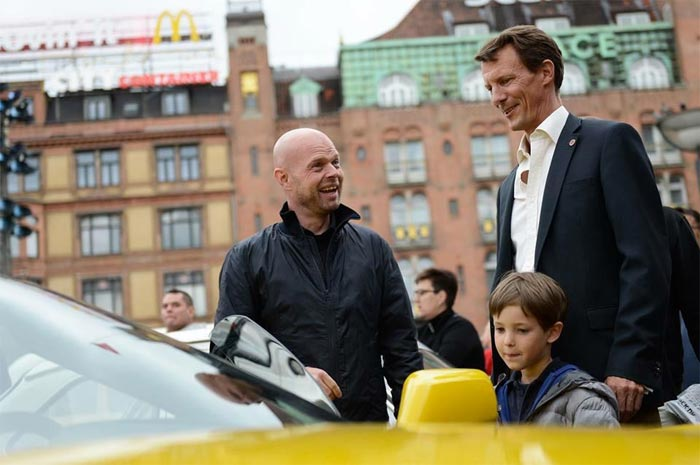 Jan, Prince Joachim of Denmark and the Z06