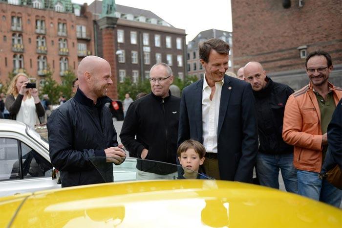 Jan, Prince Joachim of Denmark and the Z06