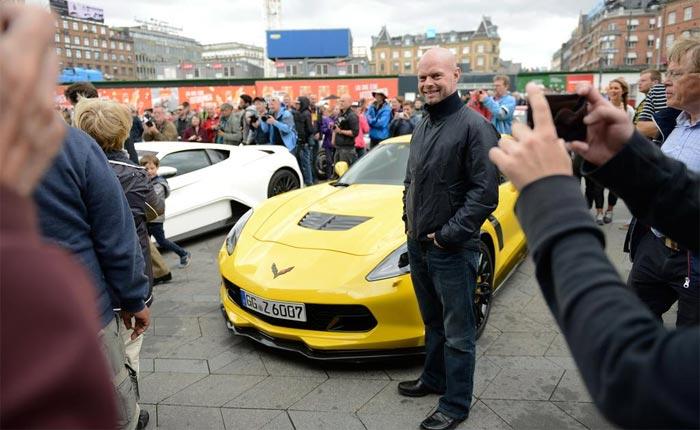 [PICS] The 'Big Nasty' Corvette Z06 Meets Royalty