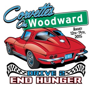 2015 Corvettes on Woodward Event