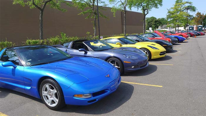2015 Corvettes on Woodward Event is August 12th – 15th