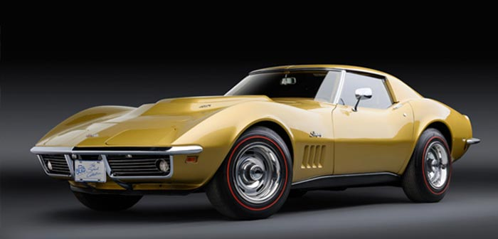 Original Low Mile 1969 Corvette L88 to be Offered in Monterey