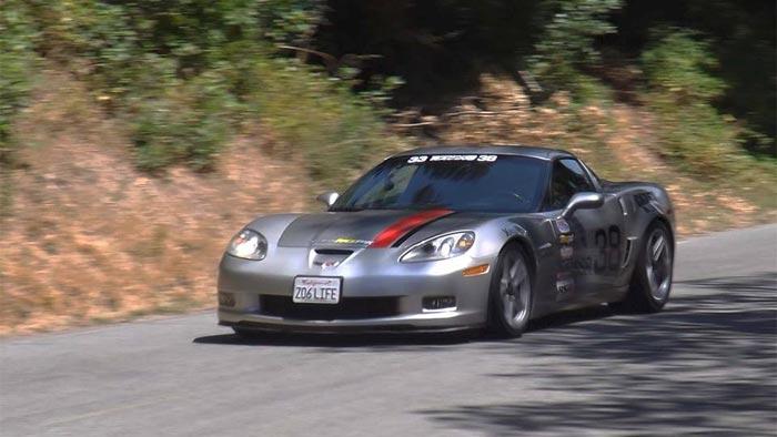 [VIDEO] Krider Racing's Corvette Z06Life Takes on California's Hoopa Hillclimb
