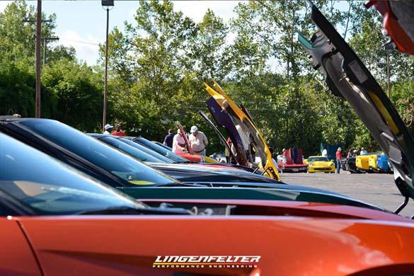 Corvettes on Woodward