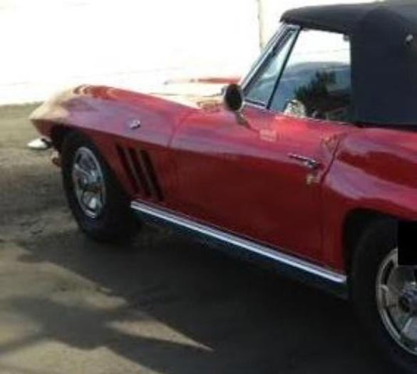 Another Corvette Stolen During the Woodward Dream Cruise