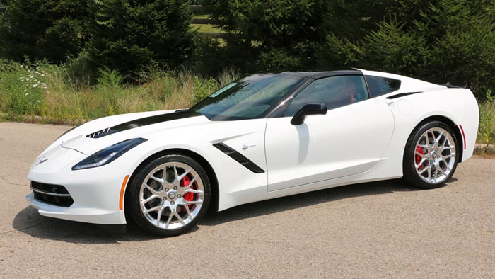 Pics Here Is The New Motorsports Wheel For 2016 Corvette Stingray