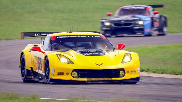 Corvette Racing at VIR - Center Stage for Corvette C7.Rs