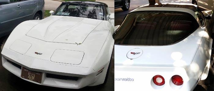 [STOLEN] 1982 Corvette Stolen from Houston Near the Galleria