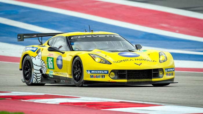Corvette Racing to Skip the FIA WEC 6-Hour Race at COTA