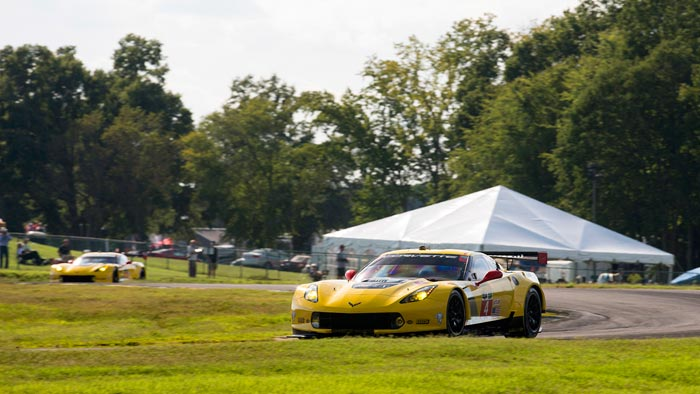 Corvette Racing at VIR:  Corvette C7.Rs Aim to Maintain GTLM Points Lead