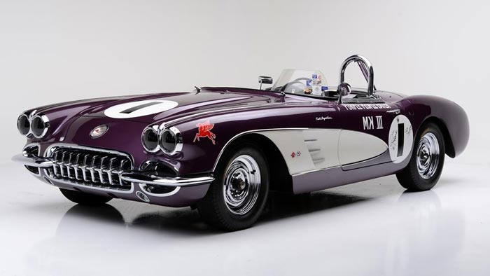 Purple People Eater Corvette Racer Heading to Barrett-Jackson's Scottsdale Auction