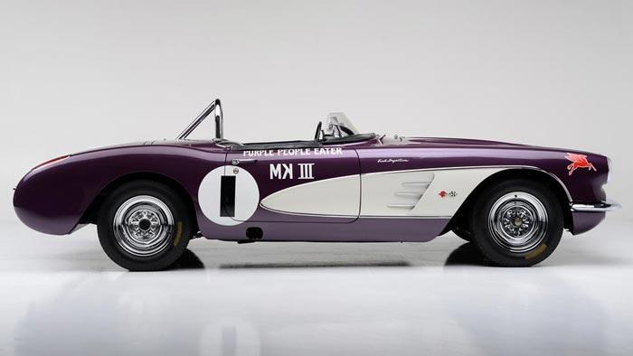 Purple People Eater Corvette Racer Heading to Barrett-Jackson's Scottsdale Auction
