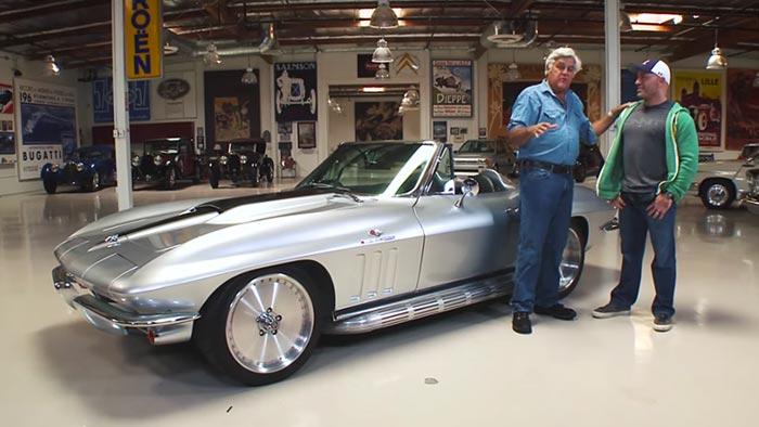 VIDEO] Joe Rogan's 1965 Corvette Restomod Visits Jay Leno's