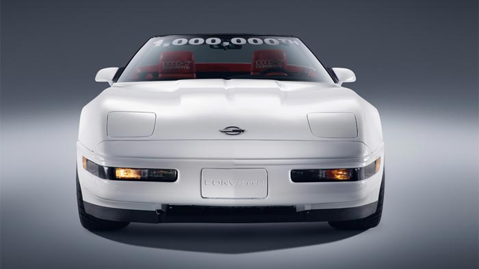 25 Years Ago: Chevrolet Builds the 1 Millionth Corvette